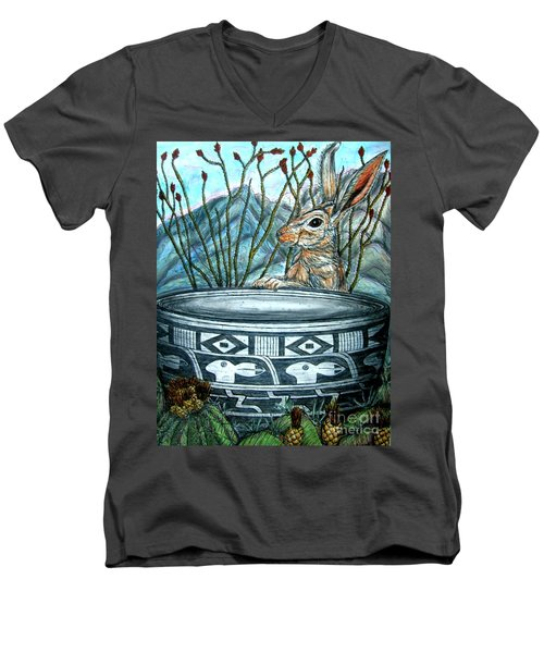What Have We Here? Men's V-Neck T-Shirt