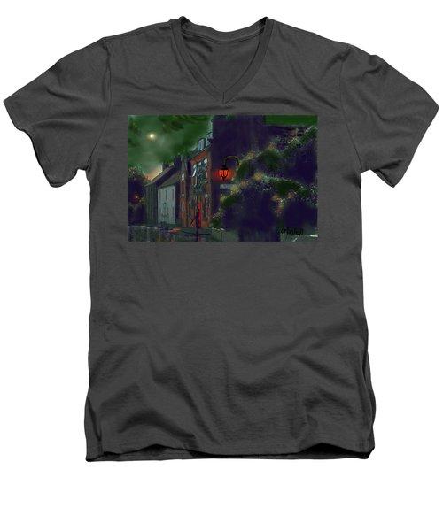 What If Grimshaw Came To Kilham Men's V-Neck T-Shirt