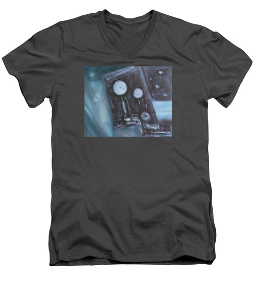 What To Say? Men's V-Neck T-Shirt