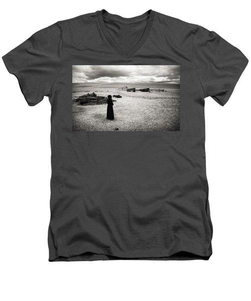 What Was Men's V-Neck T-Shirt