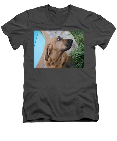What Was That Men's V-Neck T-Shirt