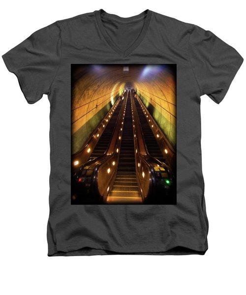 Wheaton Escalator Men's V-Neck T-Shirt