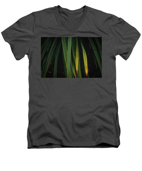 When It Rains Men's V-Neck T-Shirt