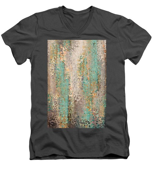 Where Are You God. Hebrews 4 12 Men's V-Neck T-Shirt by Mark Lawrence