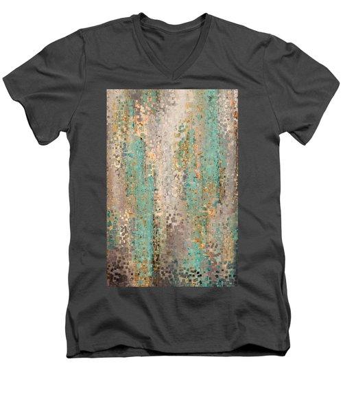 Where Are You God. Hebrews 4 12 Men's V-Neck T-Shirt