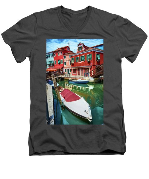 Where Did You Park The Boat? Men's V-Neck T-Shirt