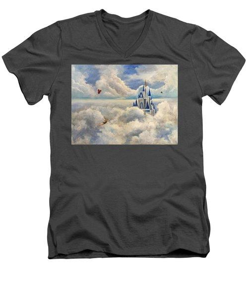 Where Dreams Come True Men's V-Neck T-Shirt