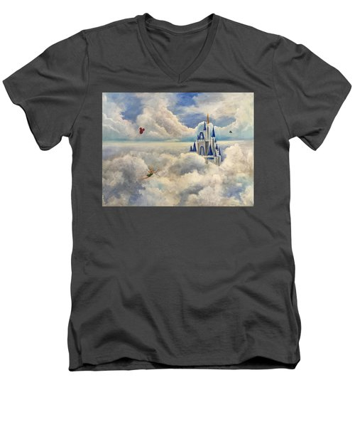 Where Dreams Come True Men's V-Neck T-Shirt