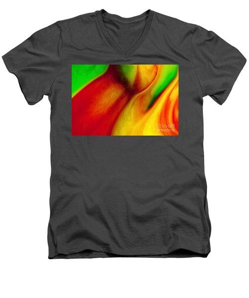 Where Time Stands Still Men's V-Neck T-Shirt