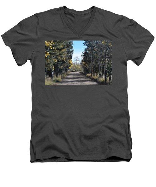 Cr 511 Divide Co Men's V-Neck T-Shirt