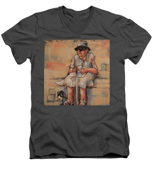 Where Was I Going Men's V-Neck T-Shirt