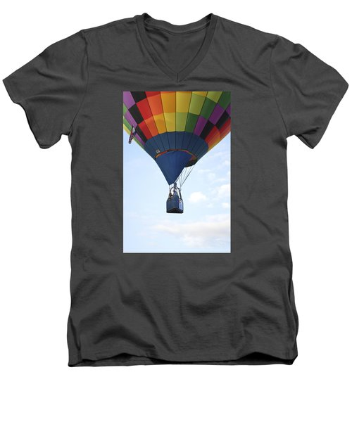 Where Will The Winds Take Us? Men's V-Neck T-Shirt by Linda Geiger