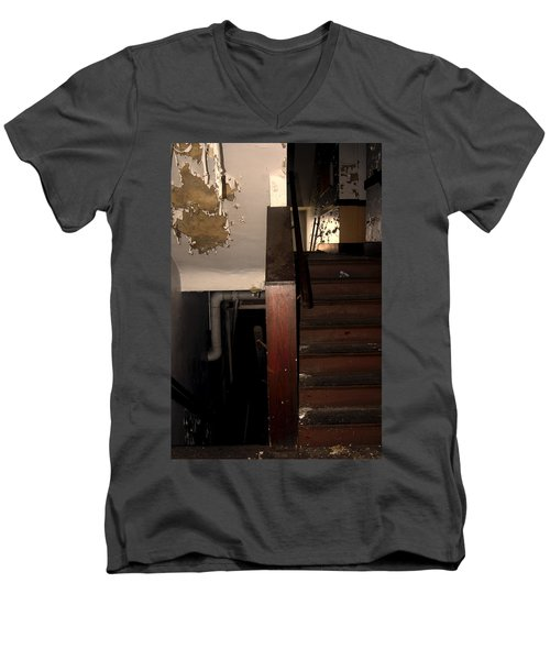 Which Way? Men's V-Neck T-Shirt