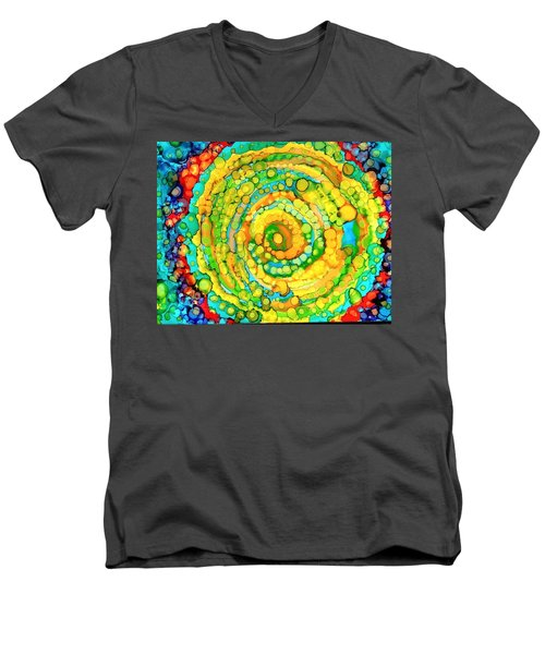 Whirling Men's V-Neck T-Shirt