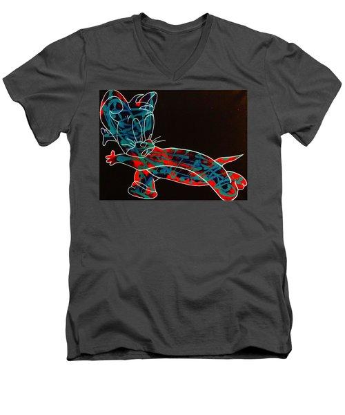Whirlwind Men's V-Neck T-Shirt