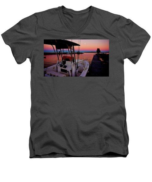 Whiskey Bay Men's V-Neck T-Shirt