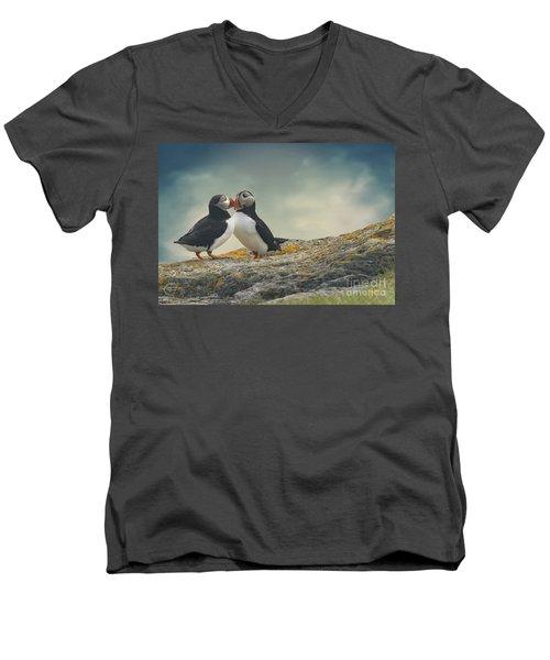 Whispered Secrets Men's V-Neck T-Shirt