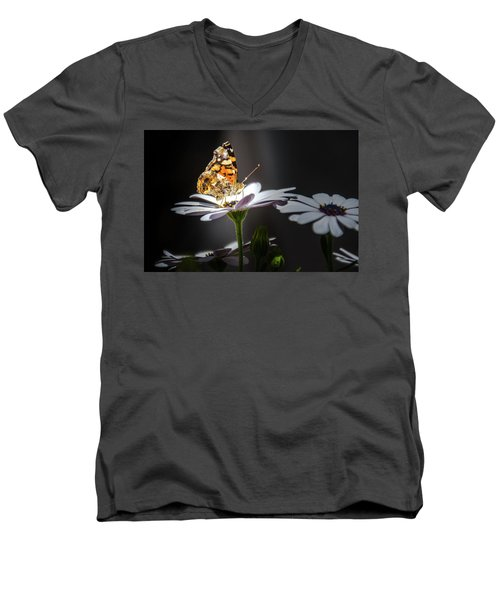 Whispering Wings II Men's V-Neck T-Shirt by Mark Dunton