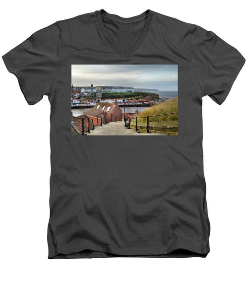Whitby Men's V-Neck T-Shirt