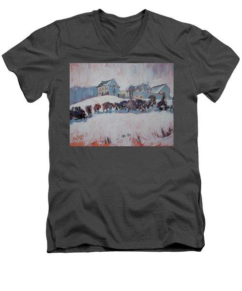 White Hill Zonneberg Maastricht Men's V-Neck T-Shirt