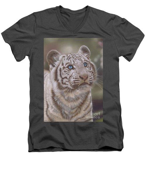 White Mischief Men's V-Neck T-Shirt
