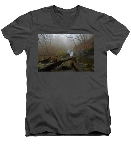White Oak Canyon Safari Men's V-Neck T-Shirt