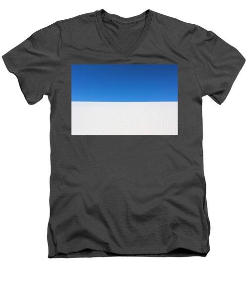 White Sands #8 Men's V-Neck T-Shirt by Kume Bryant