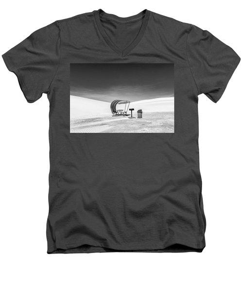 White Sands National Monument #8 Men's V-Neck T-Shirt