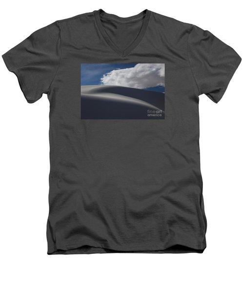 White Sands National Monument Men's V-Neck T-Shirt by Keith Kapple