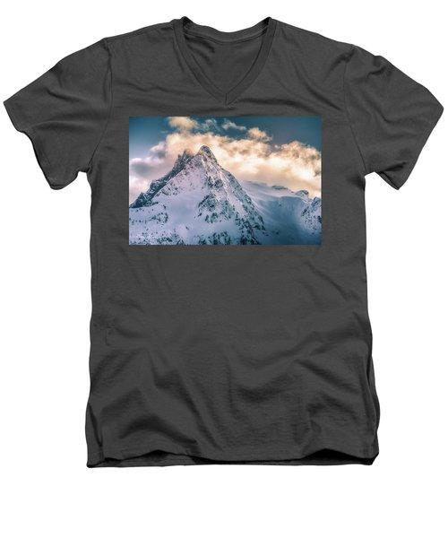Whitehorse Clouds Men's V-Neck T-Shirt