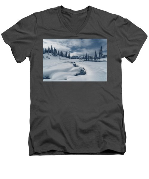 Whiteout Men's V-Neck T-Shirt