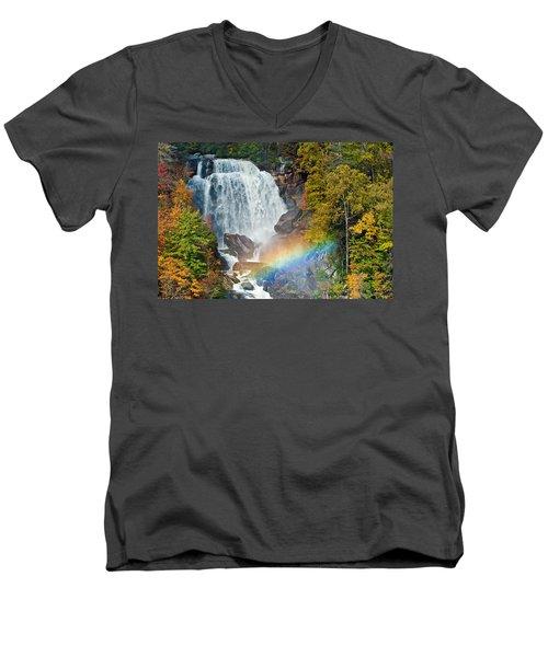 Whitewater Falls Men's V-Neck T-Shirt