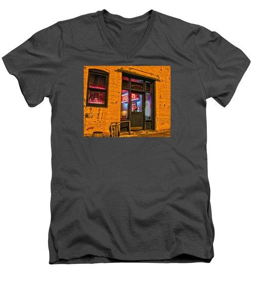 Whitey's Bar And Grill Men's V-Neck T-Shirt