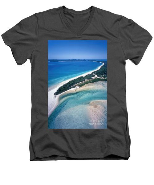 Men's V-Neck T-Shirt featuring the photograph Whitsunday Islands by Juergen Held