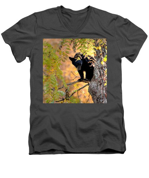 Who Are You Looking At Men's V-Neck T-Shirt