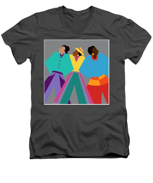 Who Dat Say Men's V-Neck T-Shirt