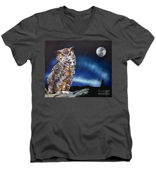 Who Doesn't Love The Night Men's V-Neck T-Shirt