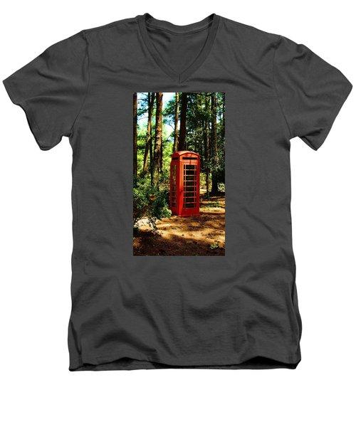 Who Left This Here Men's V-Neck T-Shirt