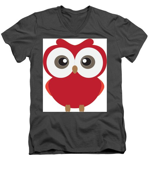 Who Men's V-Neck T-Shirt by Now