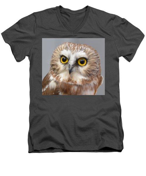 Whoo Me Men's V-Neck T-Shirt