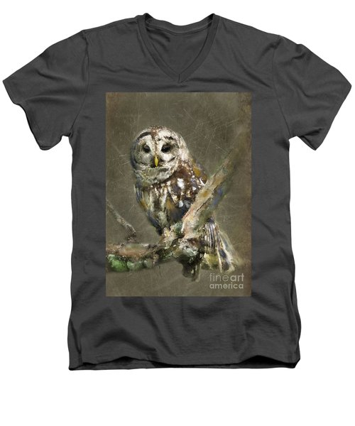 Whoooo Men's V-Neck T-Shirt