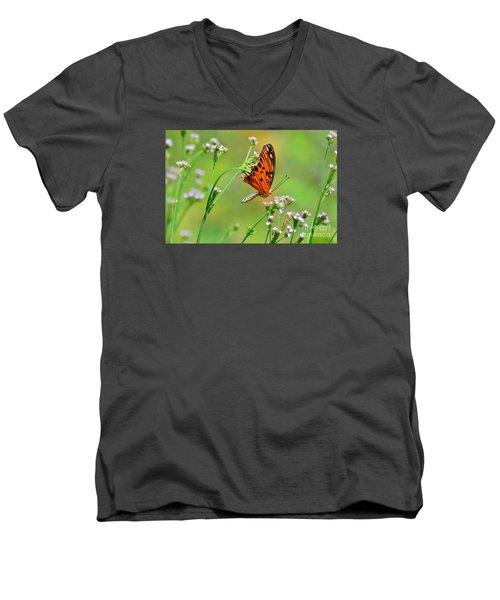 Whoops Men's V-Neck T-Shirt