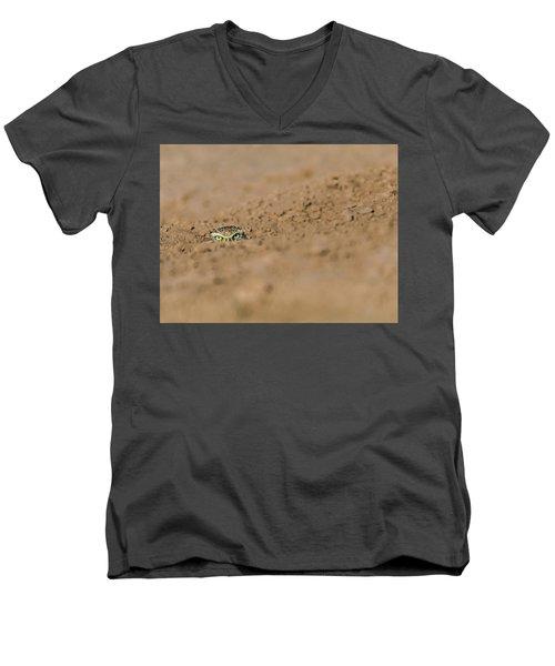 Whozat Men's V-Neck T-Shirt
