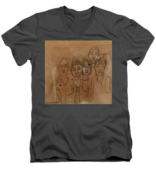 Why Do I Have To Be Famous Radiohead Men's V-Neck T-Shirt