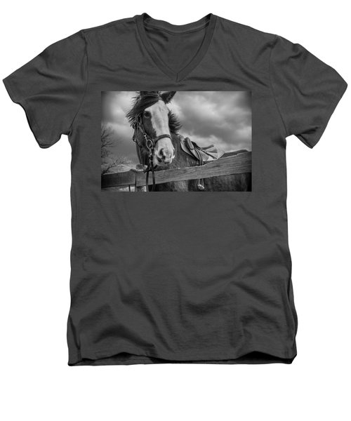Why Hello There Men's V-Neck T-Shirt