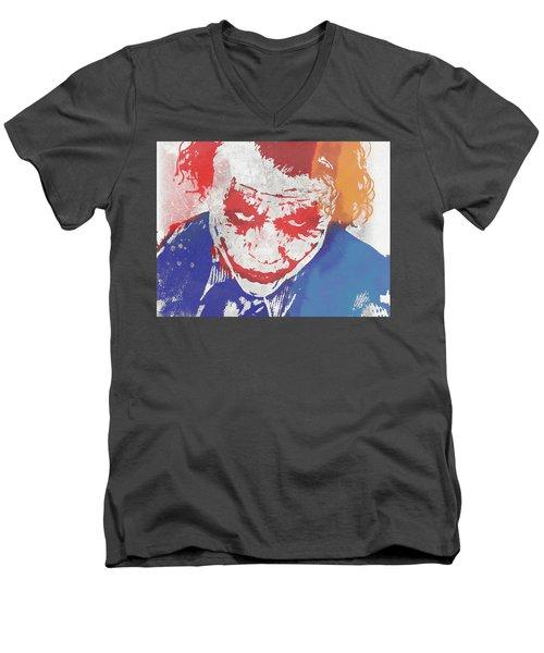 Why So Serious Men's V-Neck T-Shirt