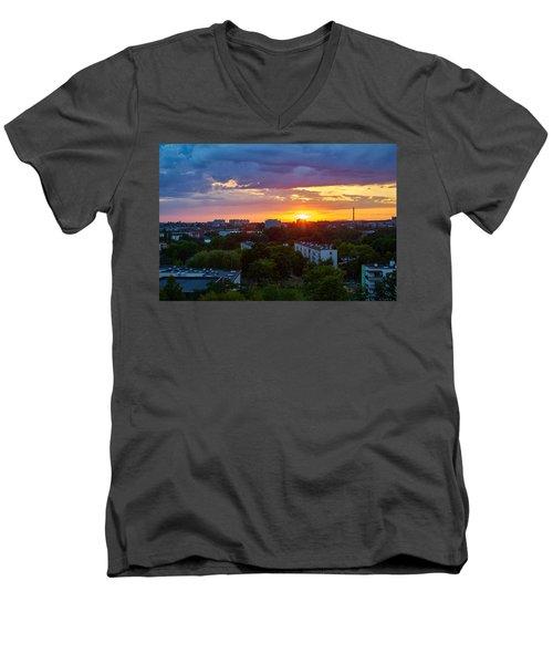 Why Men's V-Neck T-Shirt
