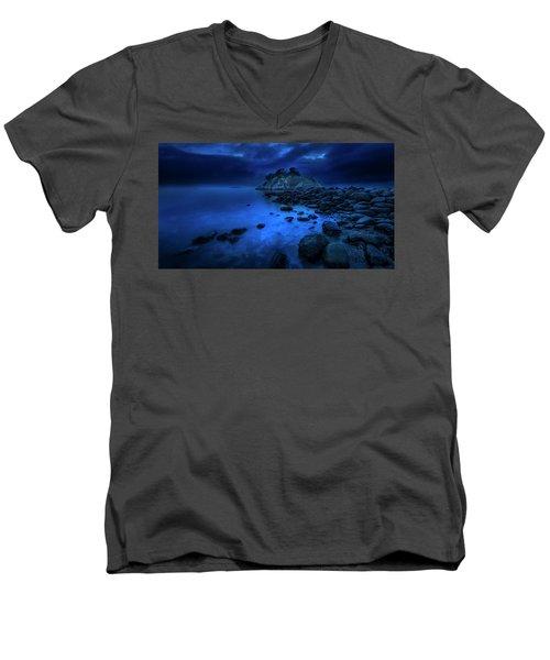Whytecliff Dusk Men's V-Neck T-Shirt