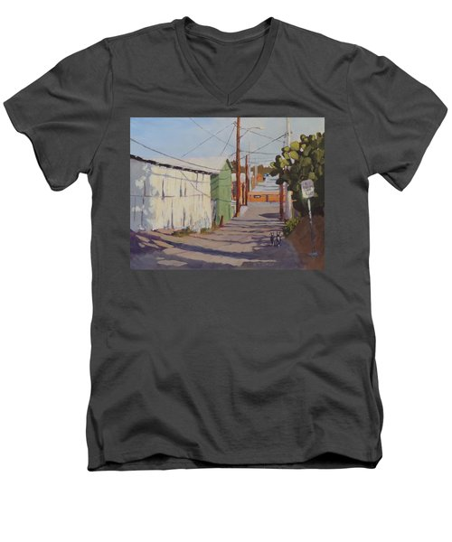 Wickenburg Alley Cats Men's V-Neck T-Shirt