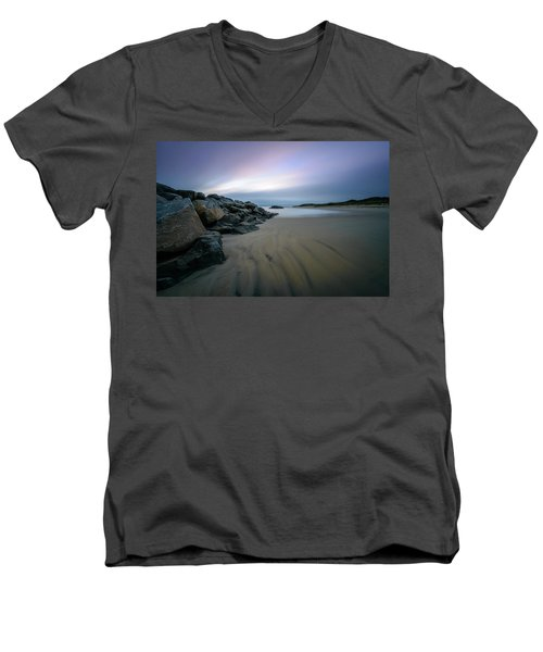 Wide Open Men's V-Neck T-Shirt